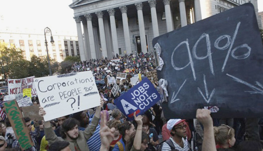 The Occupy movement's 99 percent vs. 1 percent? Setting our sights and steering our course