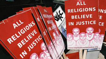 Why evangelicals matter to the labor movement