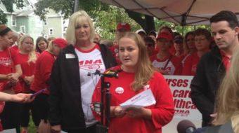 Minnesota: Allina health care intransigence forces open-ended nurses strike