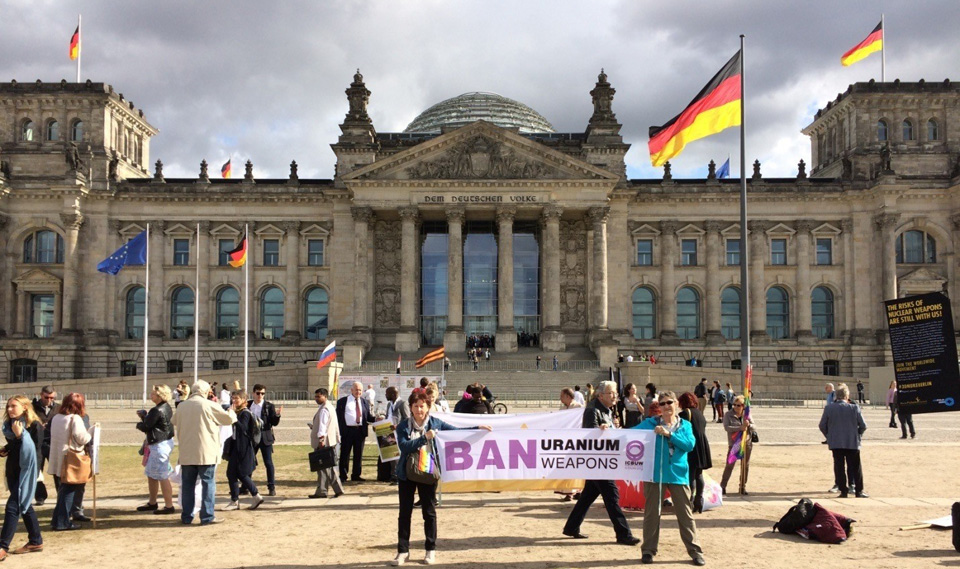 Dispatch from the World Peace Conference in Berlin