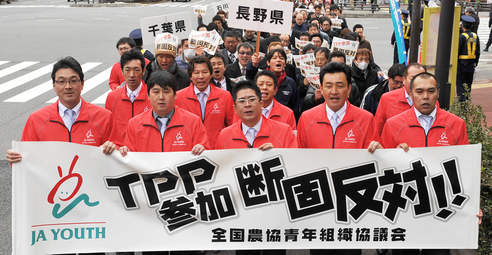 8,000 people rally in Tokyo to block TPP ratification