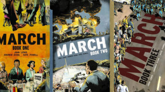 """March"": John Lewis' graphic novel trilogy"