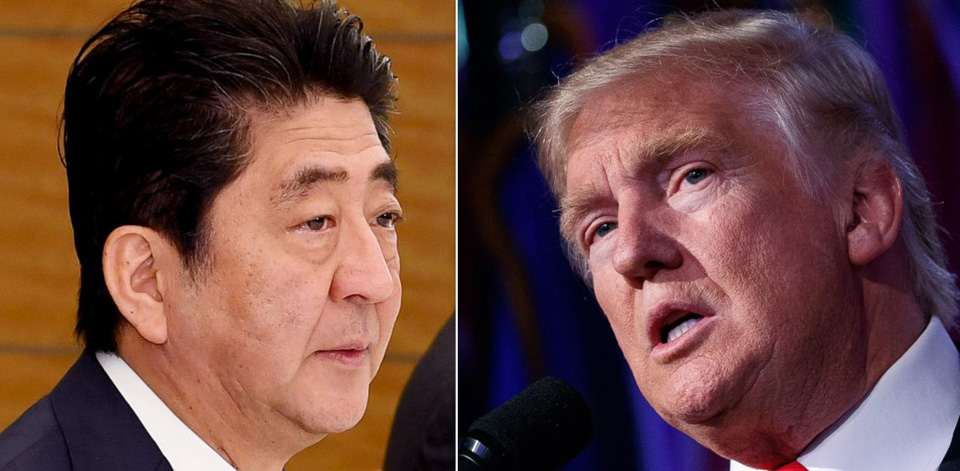 Trump victory throws uncertainty into Japan-U.S. relations