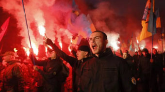 Dark days for Ukraine's left