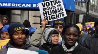 Massive attack on voting rights preceded election