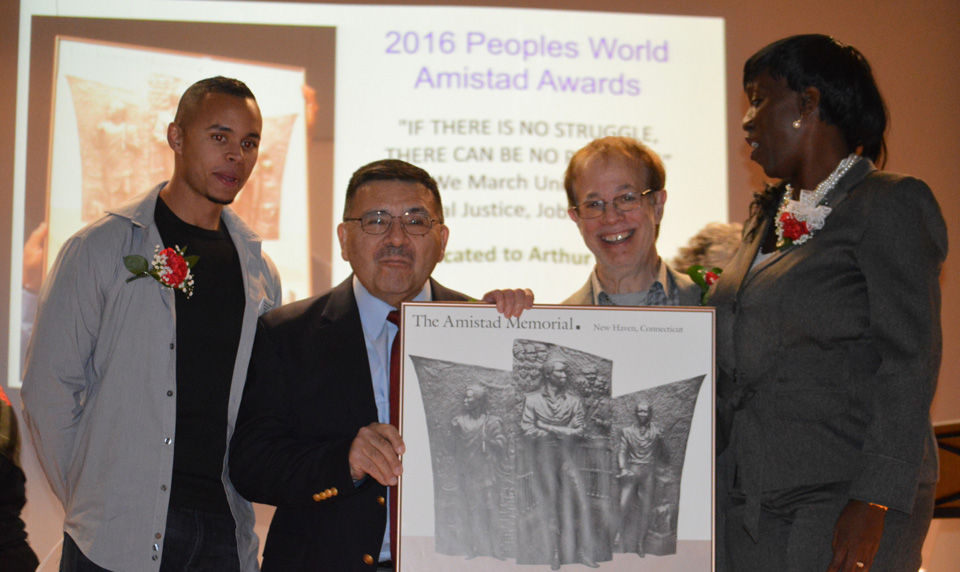 People's World Amistad Awards honor Connecticut community leaders