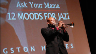 """Langston Hughes' jazz """"Ask Your Mama"""" launches national tour"""
