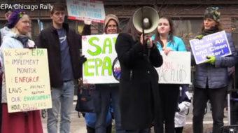 Chicago rallies against Trump's EPA pick