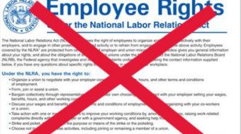 Trump's National Labor Relations Board will be anti-labor