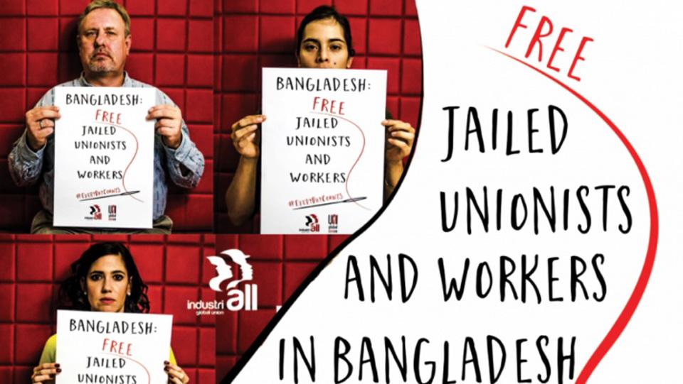 Bangladesh: Dozens of workers imprisoned for striking