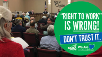 Ohioans reject local and statewide right-to-work legislation