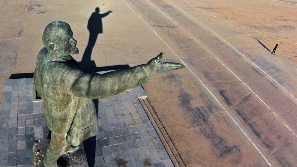 How long is Lenin's shadow?