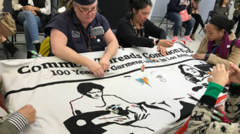 Songs, poems, speeches and sewing honor 100 years of L.A. garment work