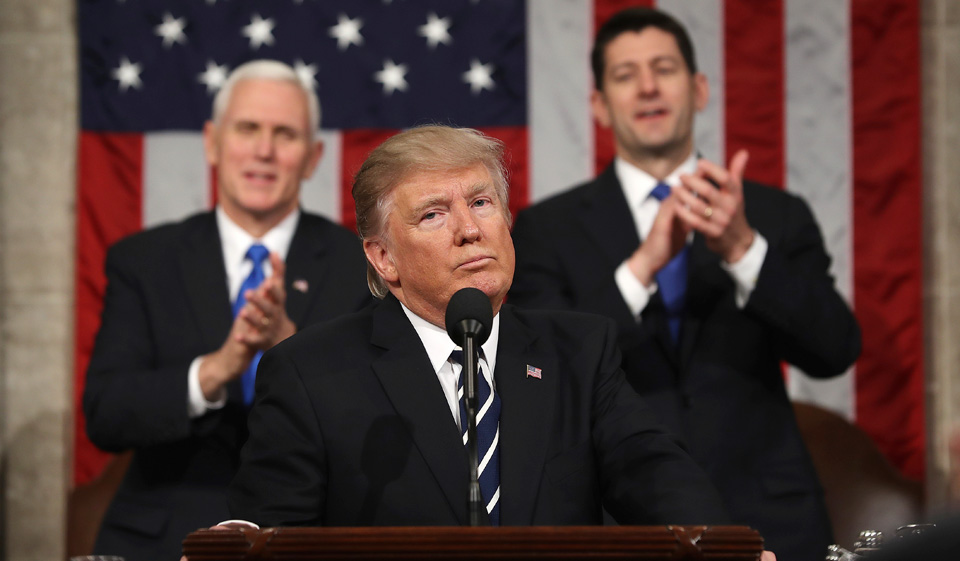 There was nothing moderate about Trump's speech