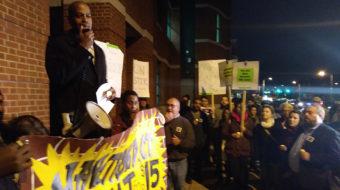 Honoring MLK, hundreds in Hartford demand end to inequality