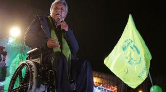 Lenín wins in Ecuador