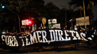 Brazil: Temer coup government rocked by general strike