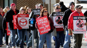 AT&T workers set strike date for Friday