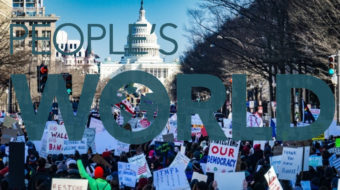 Make the People's World your first line of defense against Trump