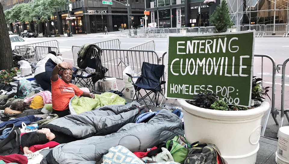 Cuomoville, paid for by developers