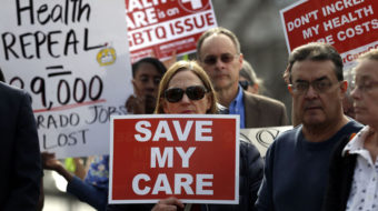 """Healthcare protest portends """"hell to pay"""" if Senate GOP bill passes"""