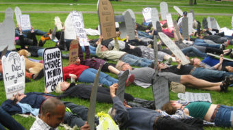 Uprising over healthcare spills onto the Senate floor