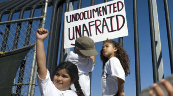 Mixed messages from Trump administration to undocumented kids and families