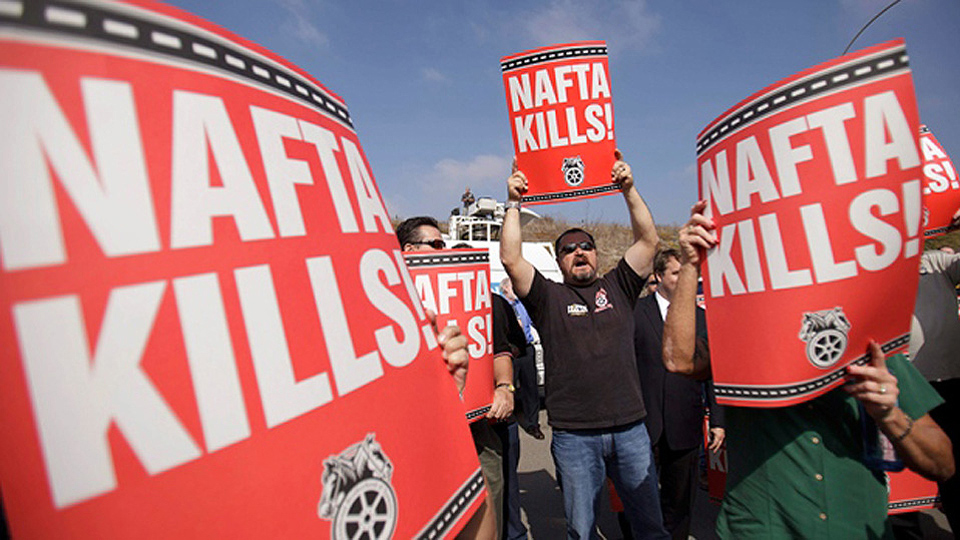Union reps push tough, enforceable labor standards for 'New NAFTA' at panel session
