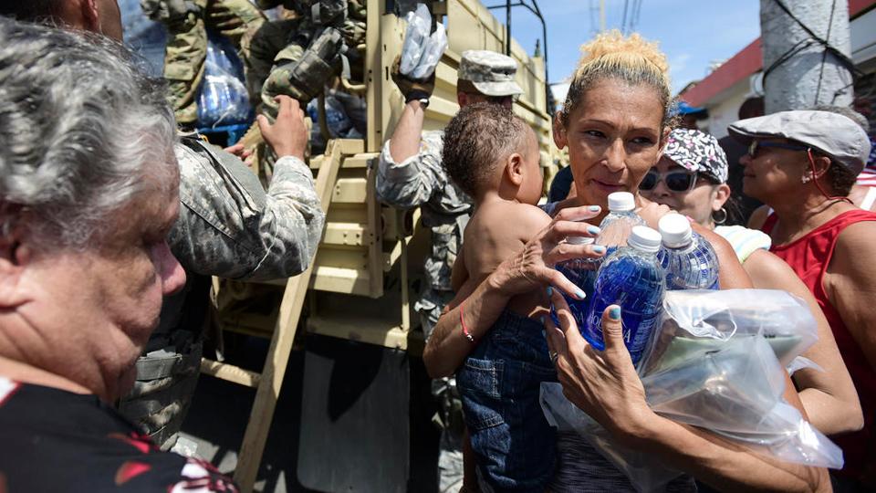 Humanitarian crisis in Puerto Rico, Trump's tweets focus on Puerto Rico's debt