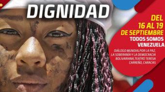 Delegados de 60 países defienden la paz de Venezuela