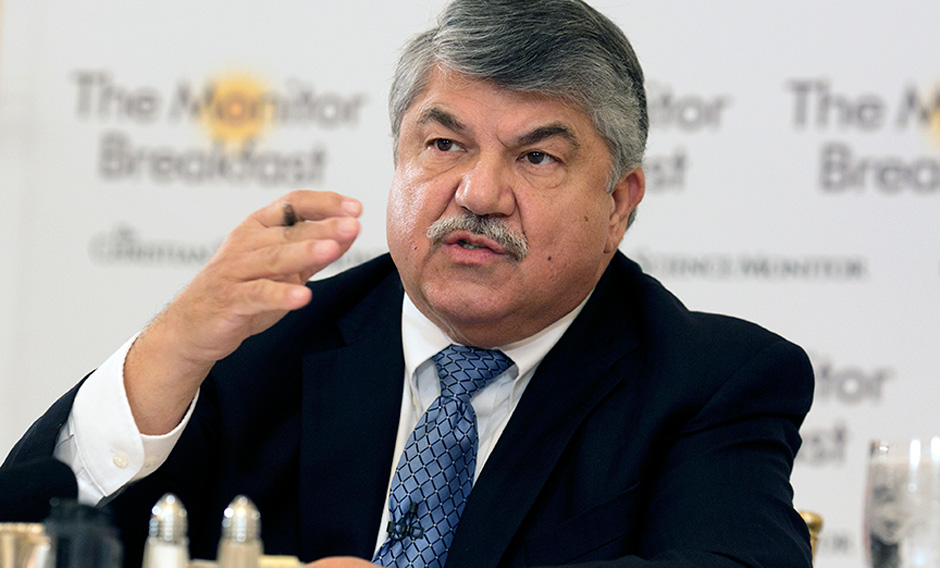 As AFL-CIO convention opens, Trumka emphasizes need to battle income inequality