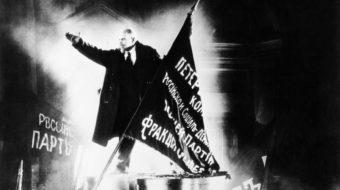 """Eisenstein's """"Ten Days That Shook the World"""" screens in L.A."""