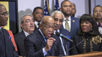 """Rep. John Lewis: """"Past few months have been hell on wheels"""""""
