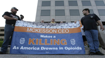 Teamsters union claims big win vs. largest opioid distributor