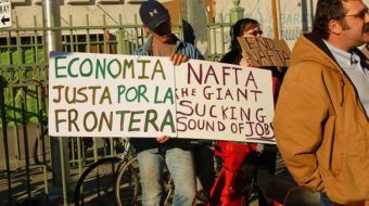NAFTA forced millions out of Mexico and into the U.S.