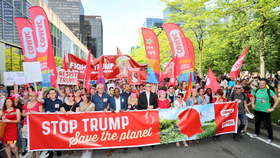 Tipping points: Stop Trump and restrain capitalism to save the world