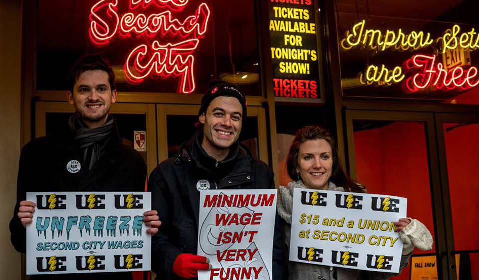 Second City service staff to hold union election