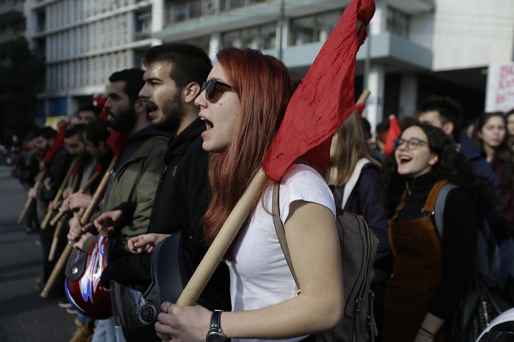 Greek workers walk off the job in general strike