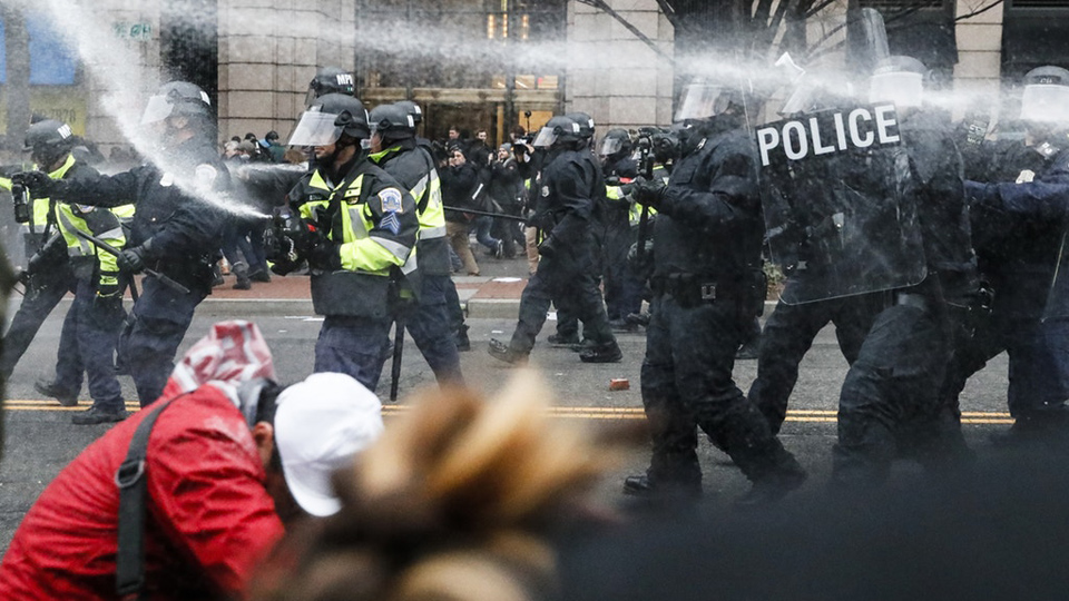 D.C. jury acquits first batch of Trump Inauguration Day protesters