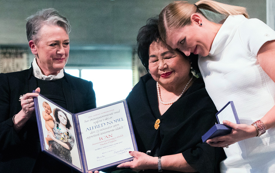 International Campaign to Abolish Nuclear Weapons wins Nobel Peace Prize