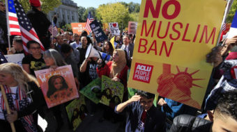 Supreme Court lets Trump keep his travel ban, for now