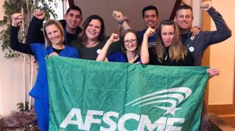 Los trabajadores luchan por el reconocimiento sindical en Luisiana y California