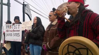 Nashville Indigenous community protests Trump's Farm Bureau convention address