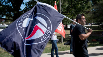 """Illinois student targeted by """"alt-right"""" after confrontation at anti-fascist rally"""
