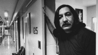Indigenous activist Leonard Peltier speaks with People's World