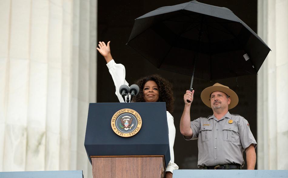 Oprah for president? How dare she!