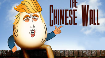 """""""The Chinese Wall"""": A 1946 satire on the futility of wall building"""