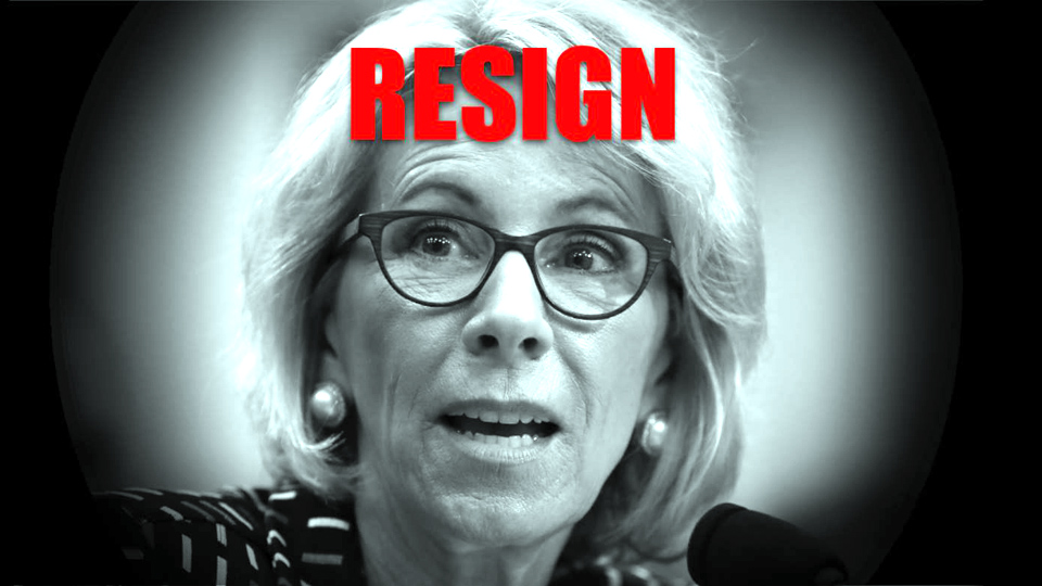 National Education Association demands Trump Ed Secretary DeVos quit