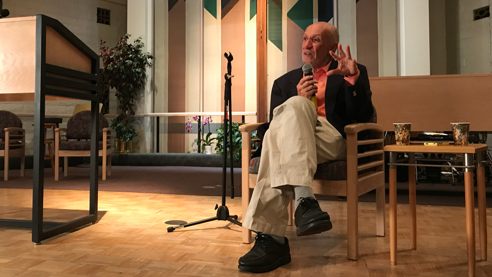 Richard Falk speaks on Israel and the question of apartheid