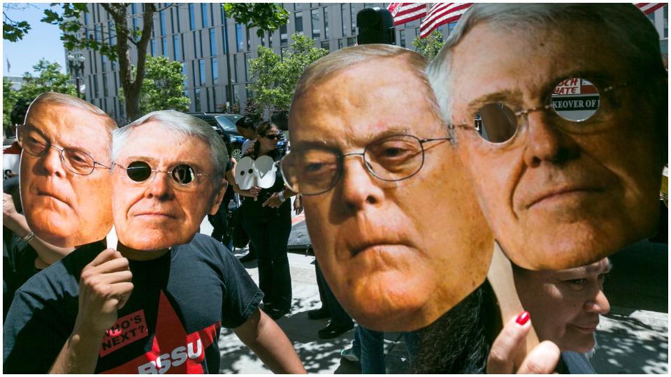 "The Koch Brothers' Latin America ""libertarian"" roadshow"